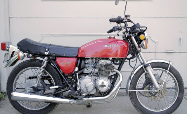 Bikes 1975 Cb400f Supersport CB Right Side